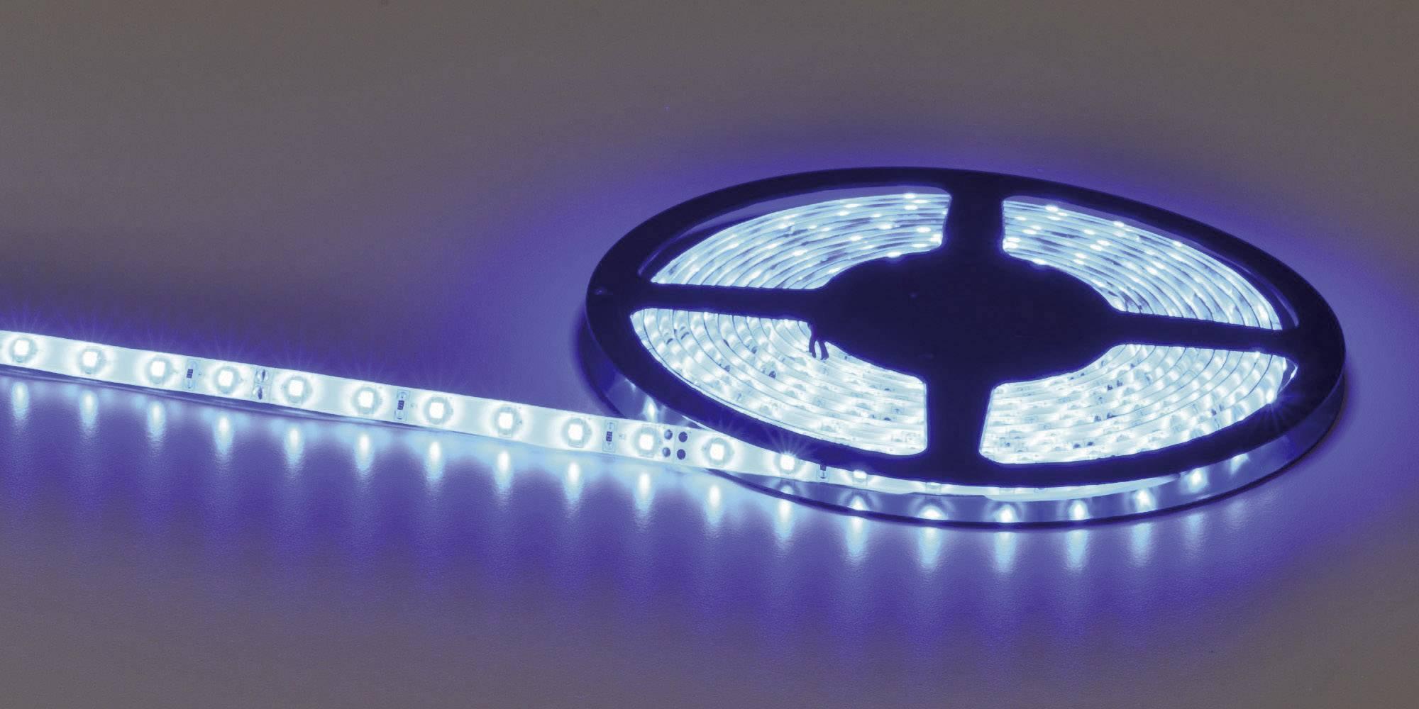 LED pás ohebný samolepicí 24VDC 51515431, 51515431, 5020 mm, RGB