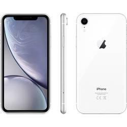 IPhone Apple iPhone XR, 15.5 cm (6.1 palec, 128 GB, 12 MPix, bílá