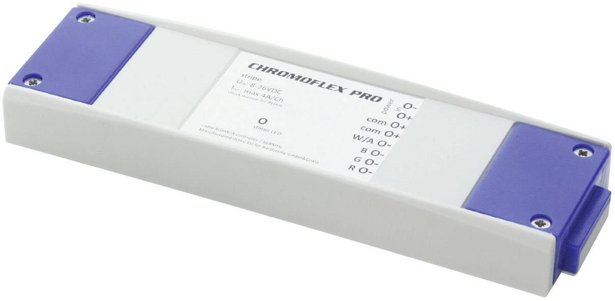 LED řadič CHROMOFLEX® Pro stripe, RGB, 3 kanály, 12-24 V/DC