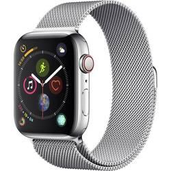 Apple Watch Series 4 44 mm, stříbrná stříbrná