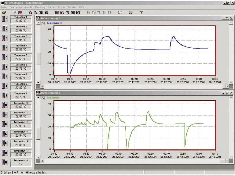 Software k dataloggeru pro PC