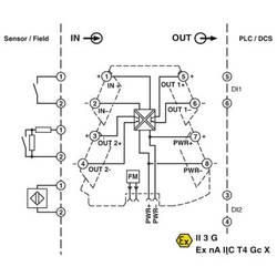 Přerušovací spínací zesilovač Phoenix Contact MINI MCR-2-NAM-2RO 2902004 1 ks