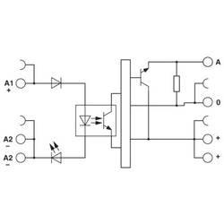 Polovodičové relé Phoenix Contact PLC-OPT- 24DC/24DC/100KHZ 2902970, 1 ks