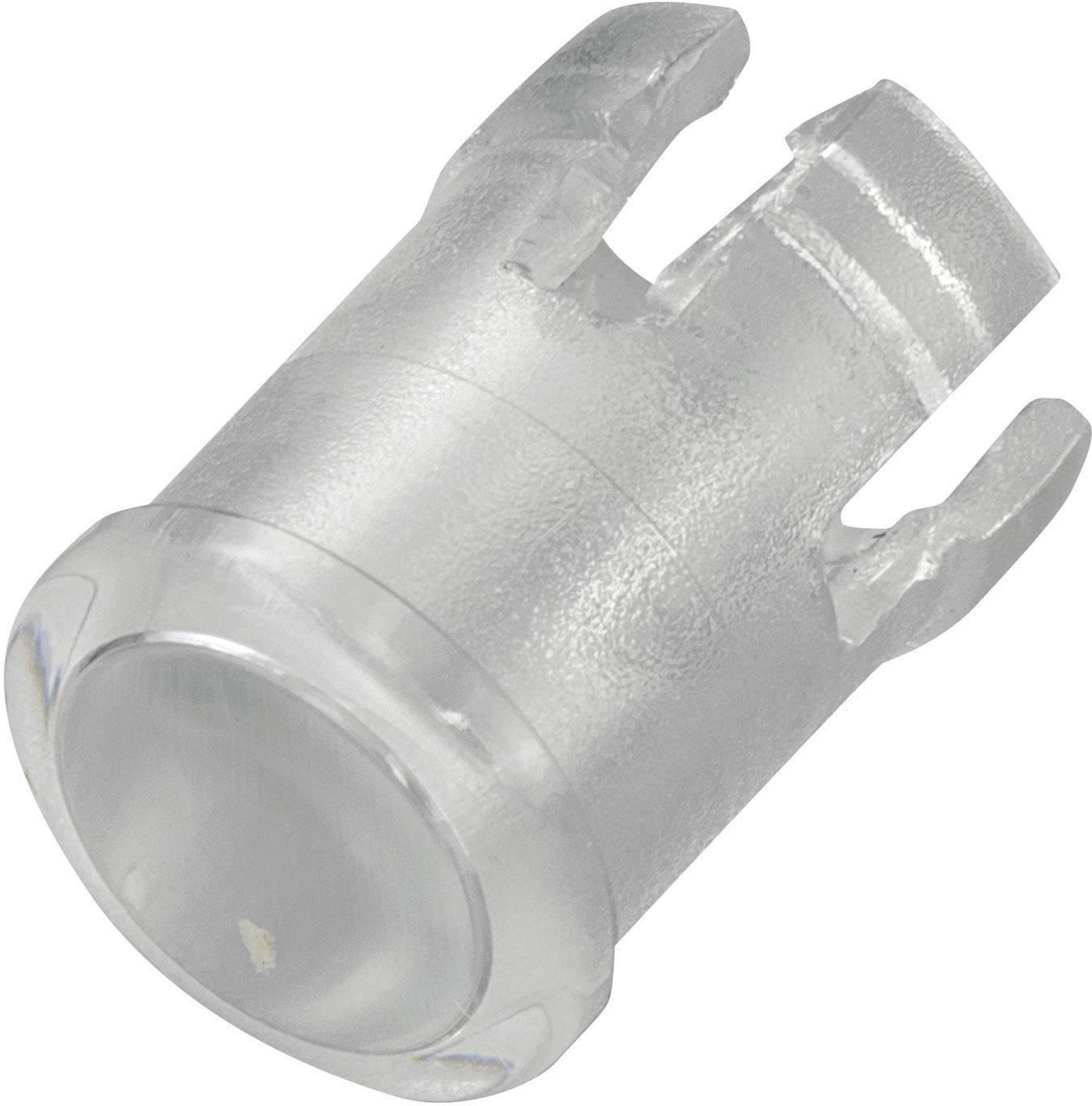 Krytka světla TRU COMPONENTS TC-EDK-03-PCW transparentní, vhodný pro LED 5 mm