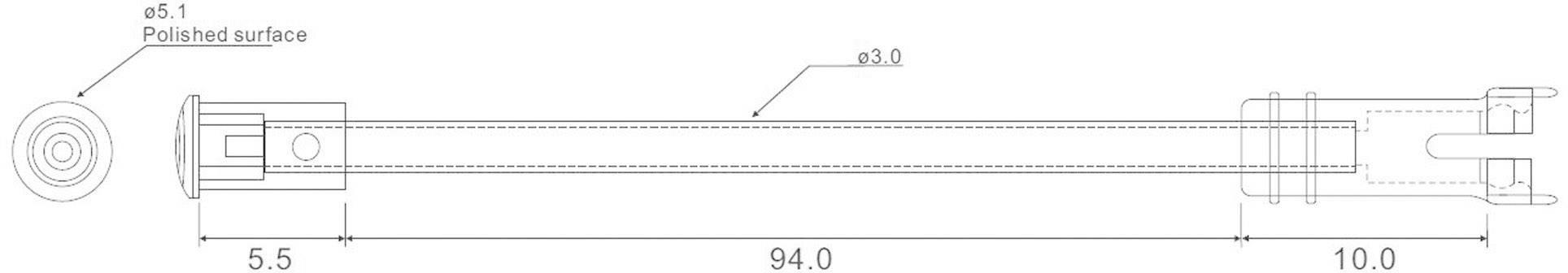 Flexibilní světlovod EDZ-2A-N2B
