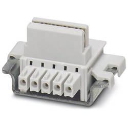 Připojení sběrnice na DIN lištu Phoenix Contact ME 17,5 TBUS 1,5/4P1S KMGY, 50 ks