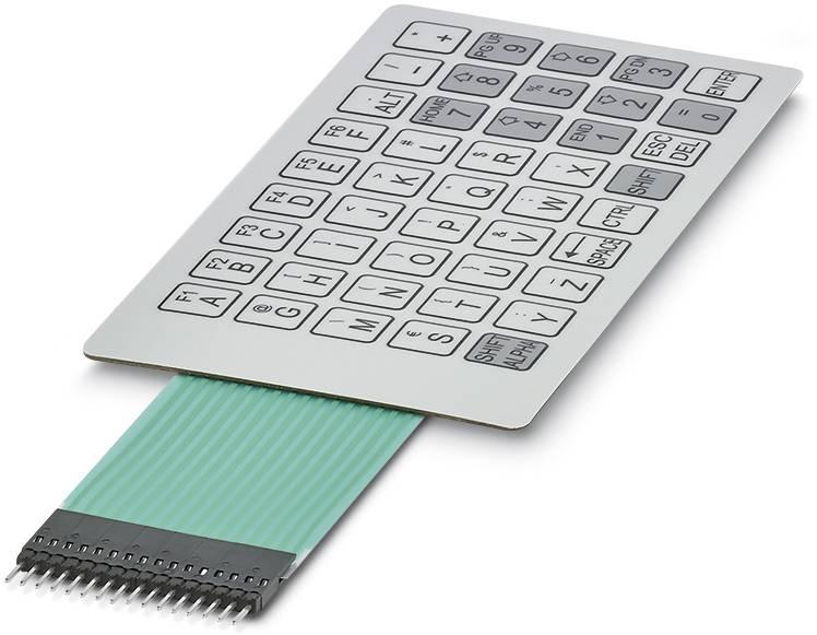 Foliová klávesnice Phoenix Contact KP HCS T-MAX K45 C4 P16, 1 ks