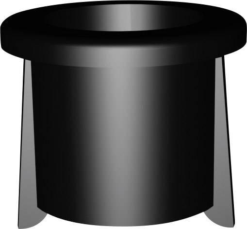 Montážní klip pro LED 5 mm, DMC50, plast, černá