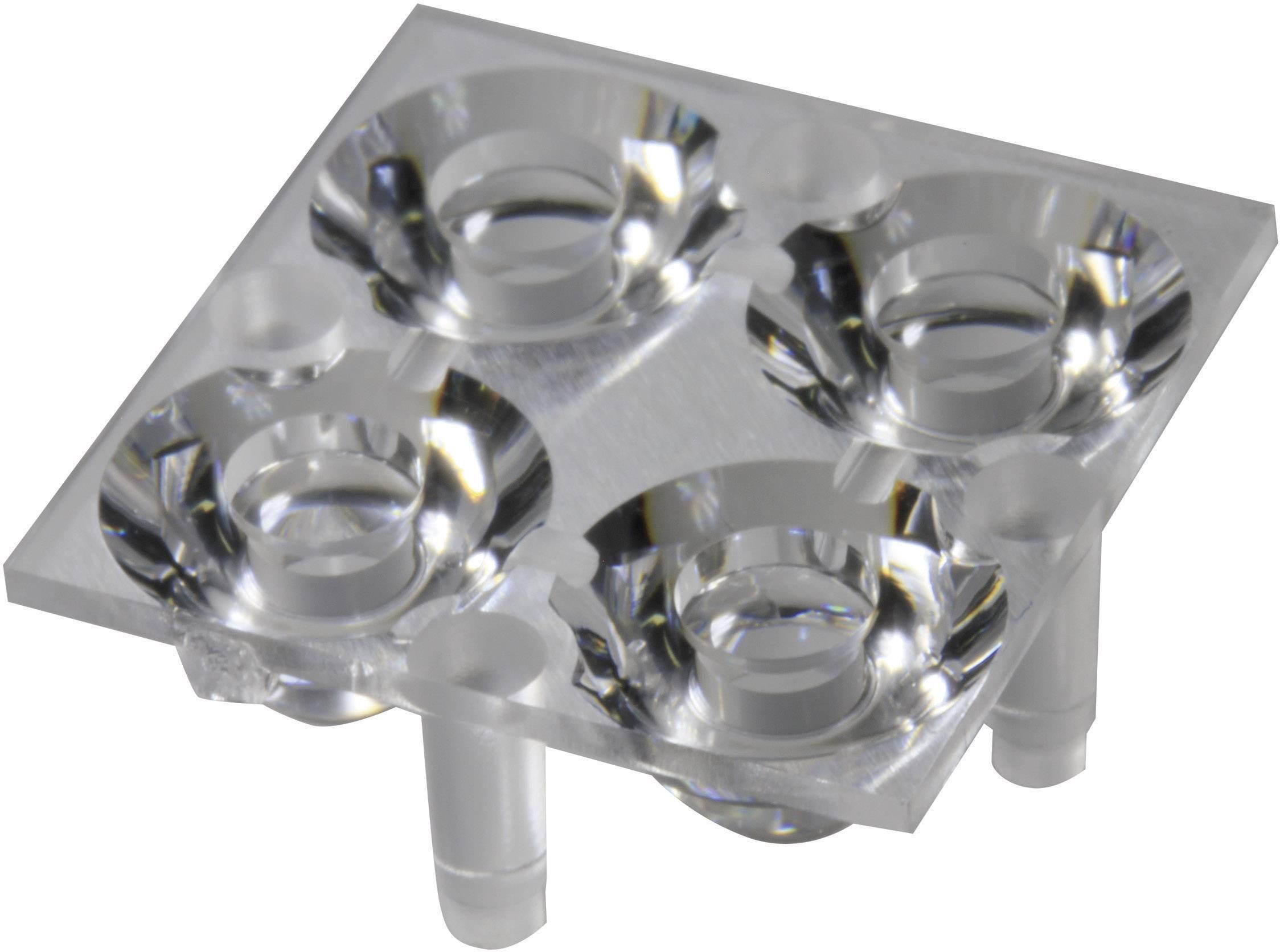 Optika pro Luxeon ® Rebel nebo Seoul Semiconductor ® Z5 Carclo 10610, 16.2°