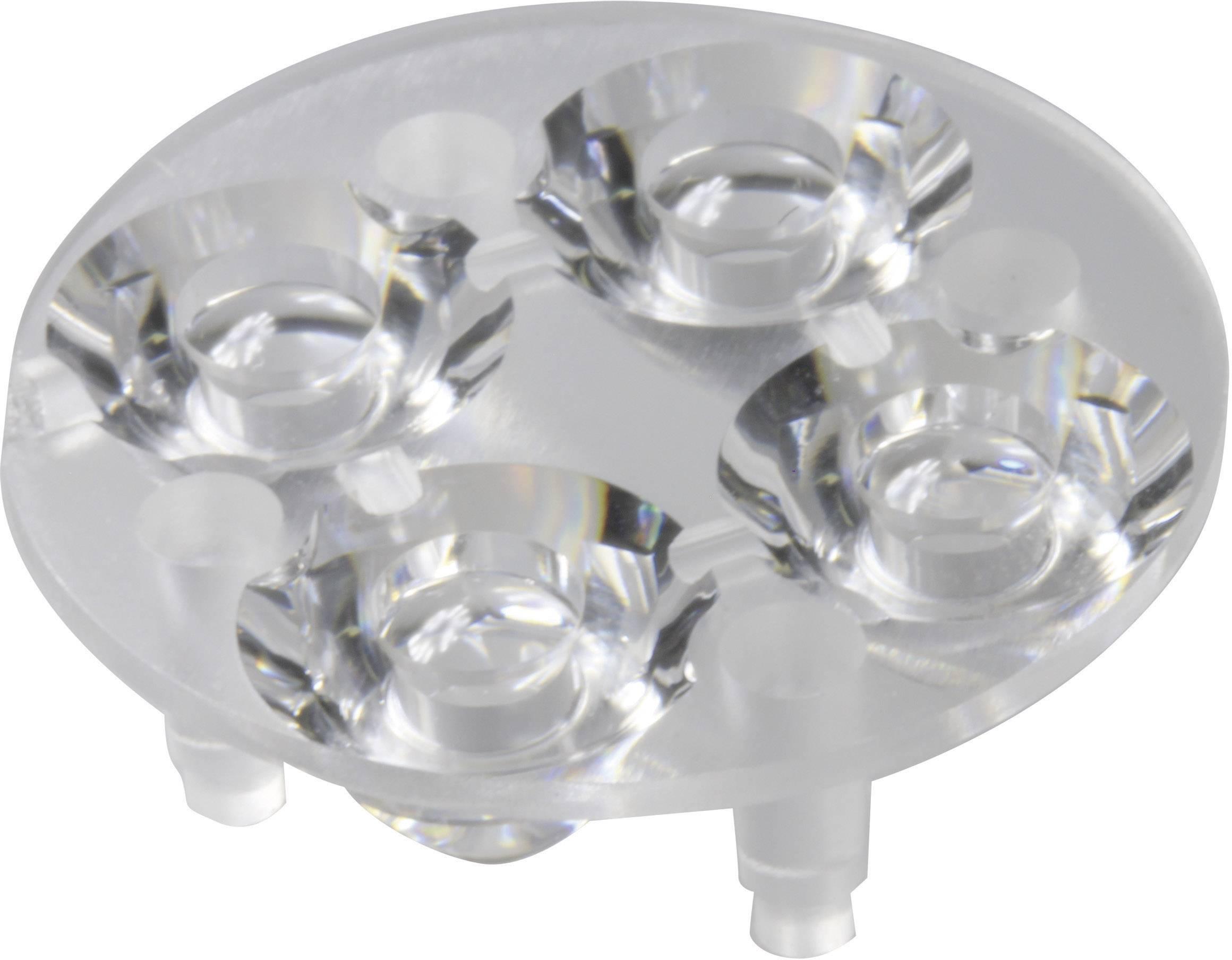Optika pro Luxeon ® Rebel nebo Seoul Semiconductor ® Z5 Carclo 10621, 16.4°