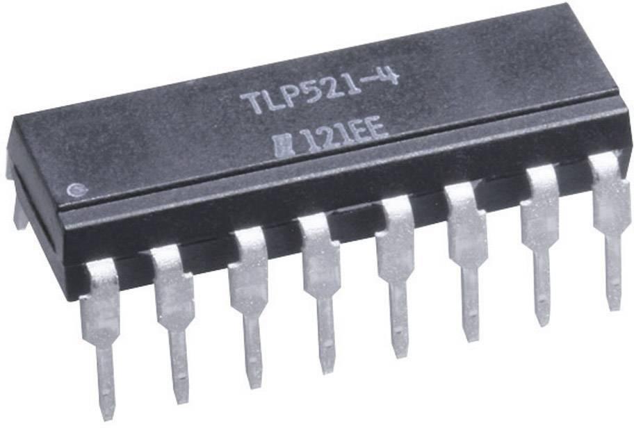 Optočlen - fototranzistor Isocom Components TLP521-4 DIP-16