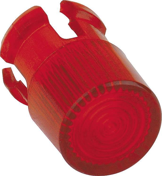 Svetelný poklop Mentor 2671.8021, červená, vhodný pre LED 5 mm , svietidlo 5 mm