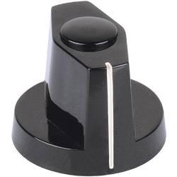 Otočný gombík Mentor 355.31, (Ø x v) 15 mm x 15.7 mm, čierna, 1 ks