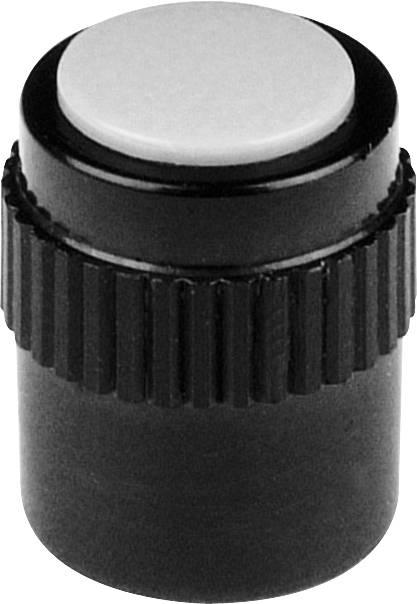 Otočný gombík Mentor 4130.303, (Ø x v) 11.5 mm x 15 mm, čierna, 1 ks