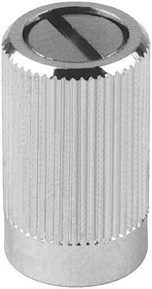 Knoflíky pro měřící přístroje Mentor 487.4, 4 mm, chrom