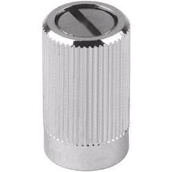 Otočný gombík Mentor 487.4, (Ø x v) 8 mm x 14 mm, chróm, 1 ks