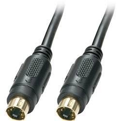 S-video video kabel [1x S-Video zástrčka - 1x S-Video zástrčka] 2.00 m černá LINDY