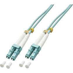 Optické vlákno kabel LINDY 46370 [1x zástrčka LC - 1x zástrčka LC], 1 m, modrá
