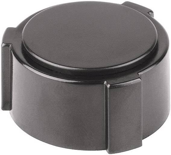 Krytka na otočný knoflík (/O 20 mm) Mentor 4132.063, KAPPEN SW, černá