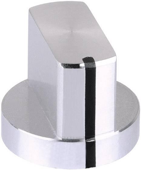 Hliníkový otočný knoflík Mentor 5583.6611, 6 mm, stříbrná