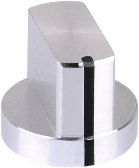 Otočný gombík Mentor 5583.6611, (Ø x v) 24 mm x 19 mm, hliník, 1 ks