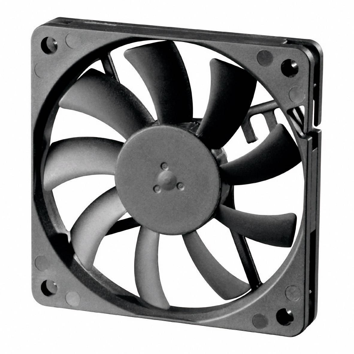 Axiálny ventilátor Sunon MB70101V2-0000-A99 MB70101V2-0000-A99, 12 V/DC, 24.5 dB, (d x š x v) 70 x 70 x 10 mm