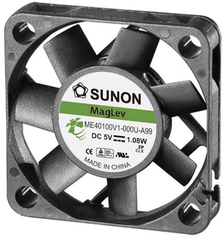 Axiálny ventilátor Sunon ME40100V1-000U-A99 ME40100V1-000U-A99, 5 V/DC, 32 dB, (d x š x v) 40 x 40 x 10 mm