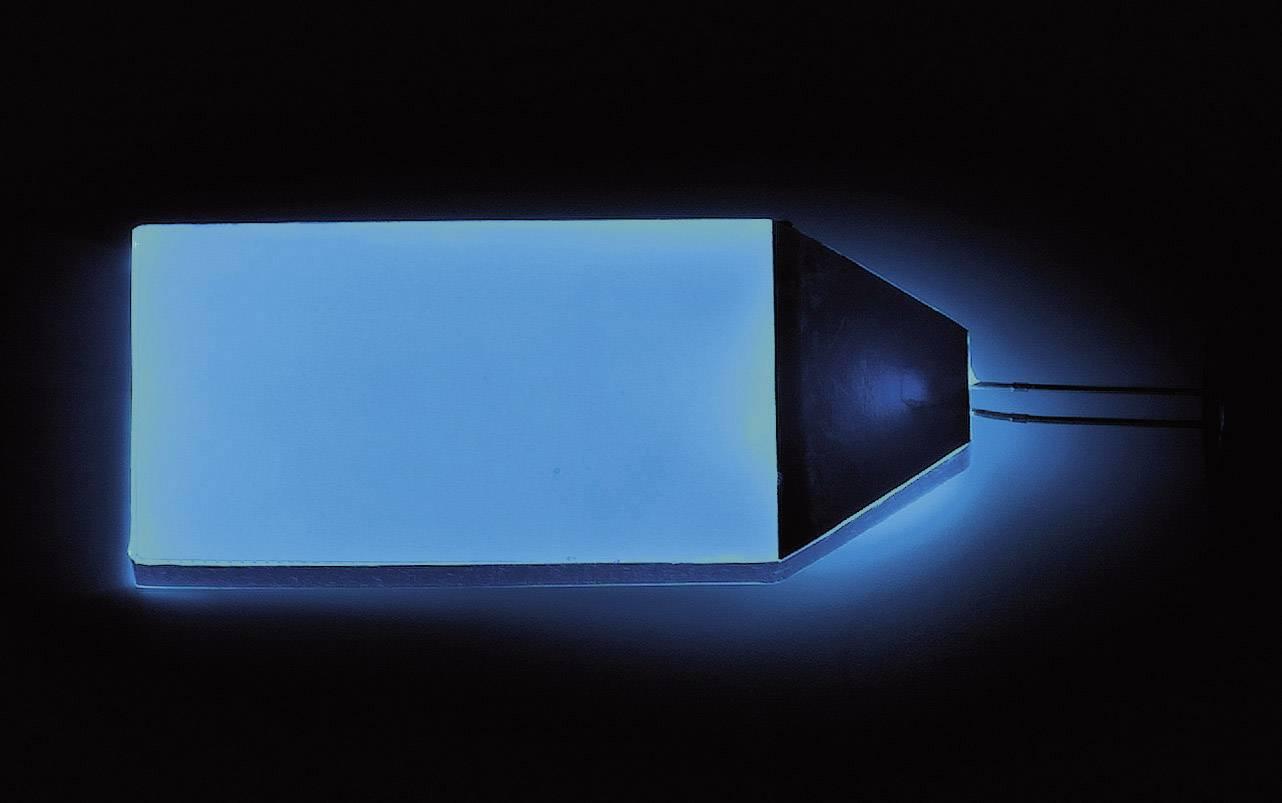 LED podsvícení displeje LP-66-32-BE, modrá, (d x š x v) 66 x 32 x 3.5 mm