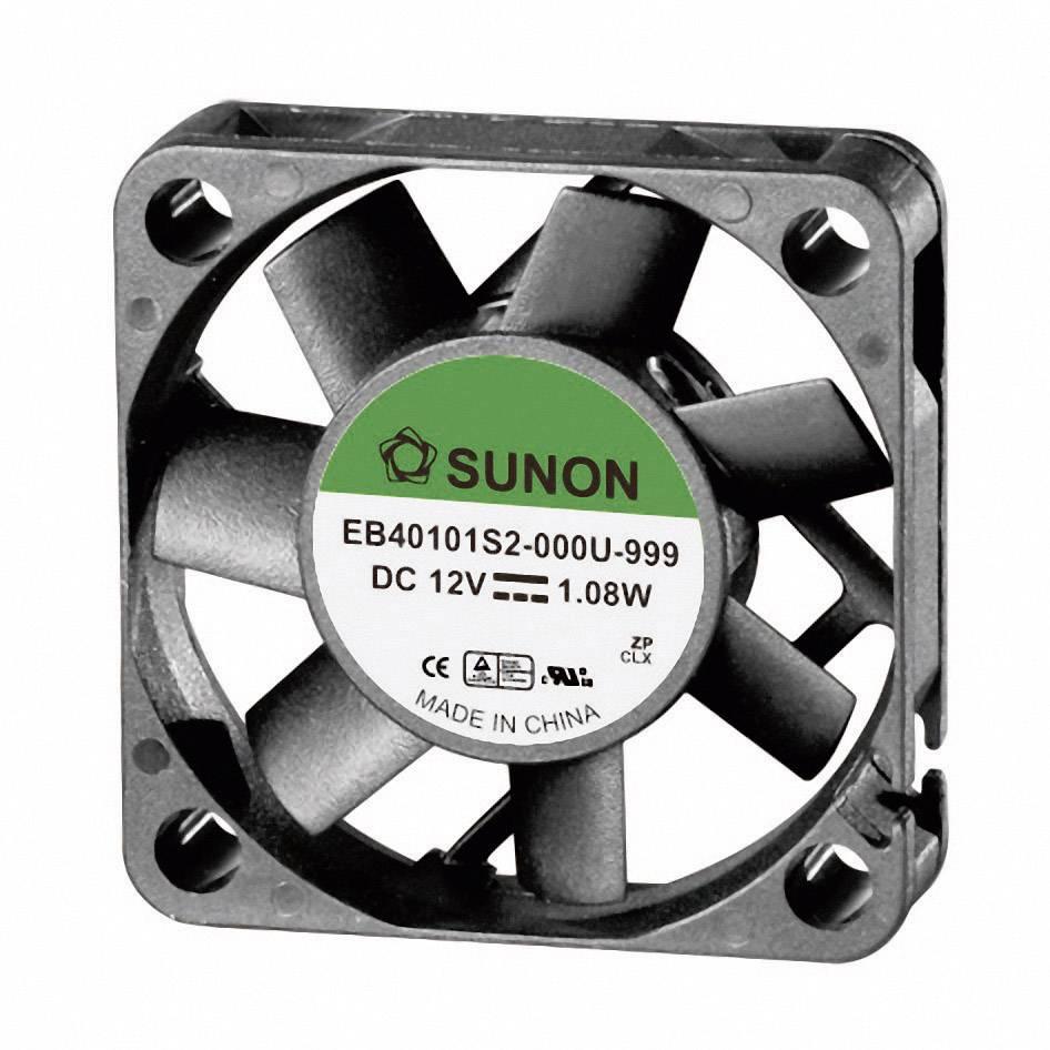 Axiálny ventilátor Sunon EB40101S2-0000-999 EB40101S2-0000-999, 12 V/DC, 27 dB, (d x š x v) 40 x 40 x 10 mm