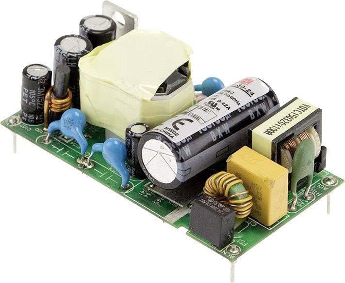 AC/DC zdroj do DPS Mean Well MFM-30-24, 24 V/DC, 1.3 A