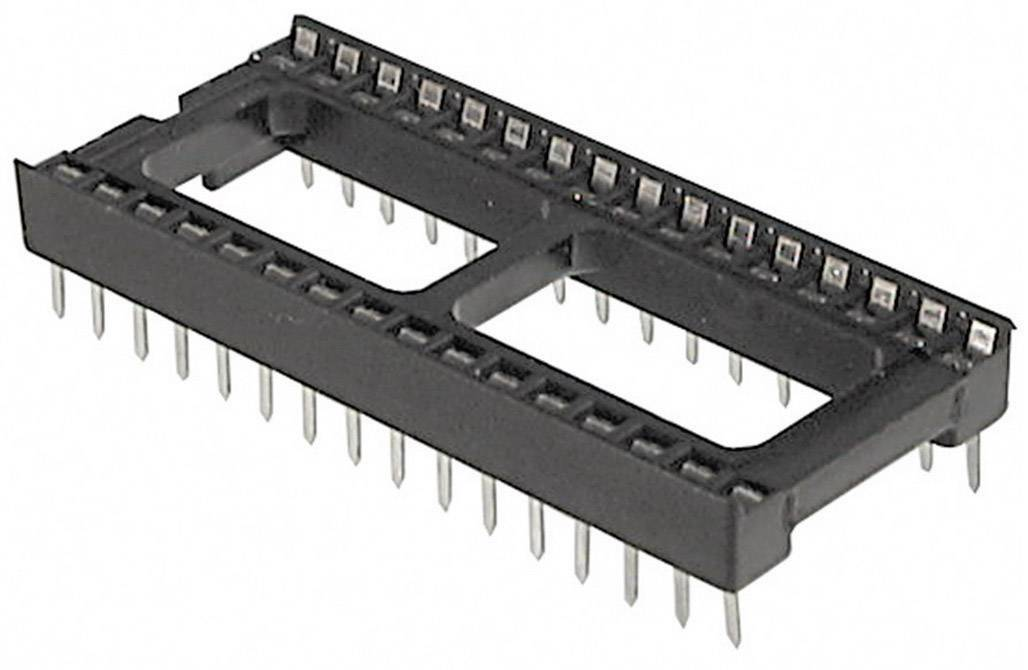 IC pätica TRU COMPONENTS TC-A 24-LC-TT-203 15.24 mm, pólů 24, 1 ks