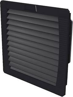 Ventilátor s filtrem Weidmüller (š x v x h) 202 x 202 x 93 mm