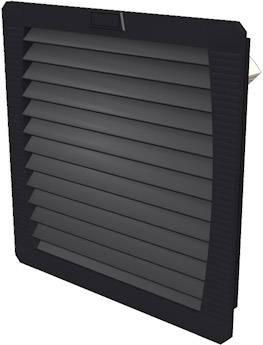Ventilátor s filtrem Weidmüller (š x v x h) 252 x 252 x 103 mm