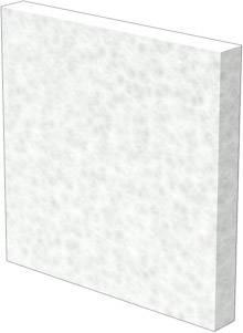 Filtrační vložka Weidmüller (š x v) 87 mm x 87 mm