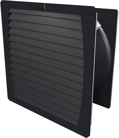 Ventilátor s filtrem Weidmüller (š x v x h) 252 x 252 x 119 mm