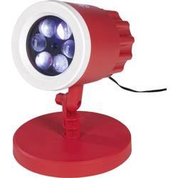 LED LED dekoračné svetlo 03976, červená / biela