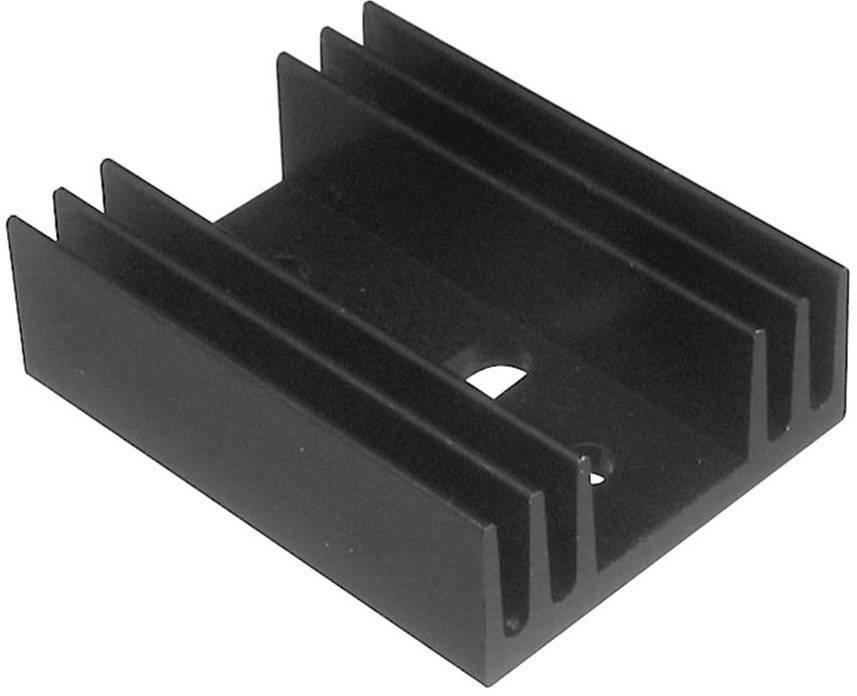 Lisovaný chladič TRU COMPONENTS TC-V4330K-203 1586574, 11 K/W, (d x š x v) 29 x 11.5 x 37.5 mm