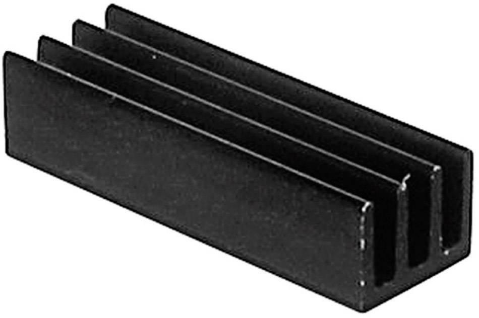 Lisovaný chladič TRU COMPONENTS TC-V5618B-203, 46 K/W, (d x š x v) 19 x 6.3 x 4.8 mm