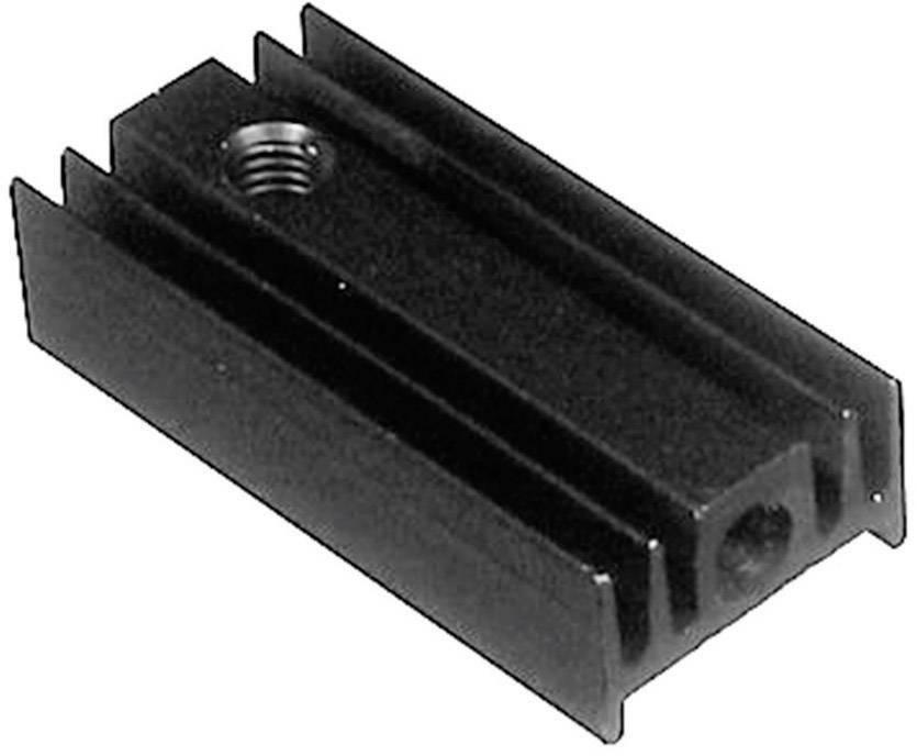 Lisovaný chladič TRU COMPONENTS TC-V5629G-203, 40 K/W, (d x š x v) 25 x 12 x 6.5 mm