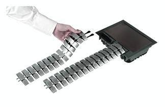 Kabelový můstek Bachmann 930.054, (d x š x v) 16 x 44 x 86 mm, stříbrná, 1 ks