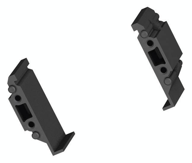 Kabelový můstek - spodní část Bachmann 940.099, černá, 1 ks