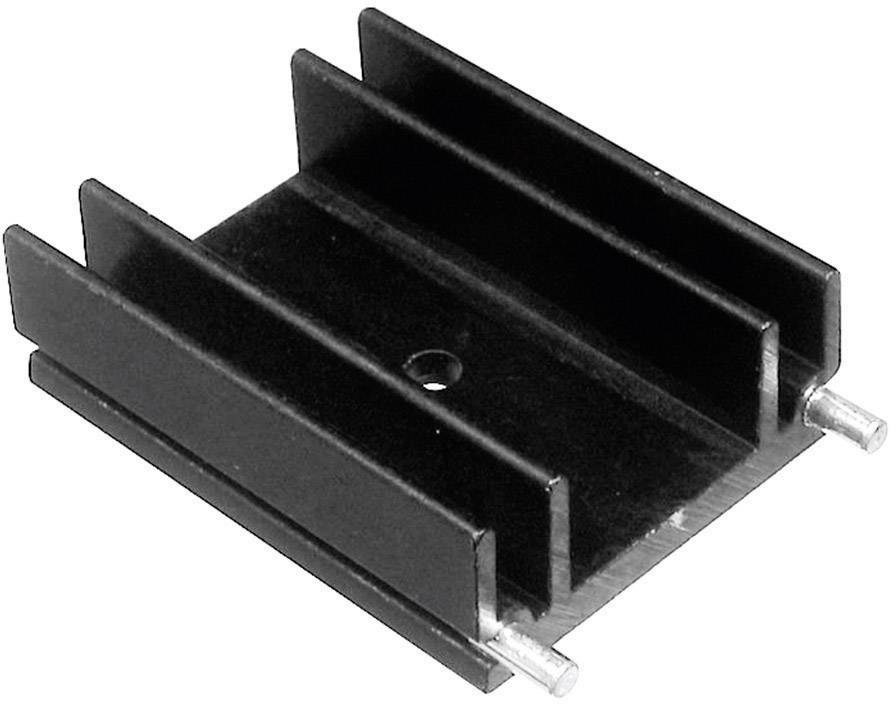 Lisovaný chladič TRU COMPONENTS TC-V6560W-203, 9 K/W, (d x š x v) 25 x 29 x 12 mm, TO-220