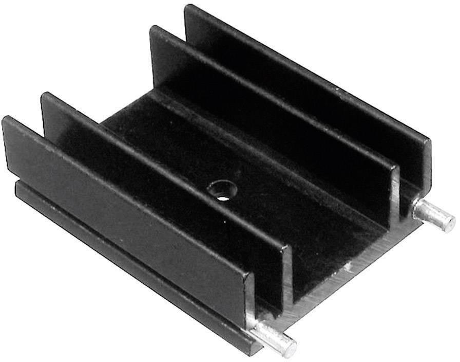Lisovaný chladič TRU COMPONENTS TC-V6560X-203, 8.5 K/W, (d x š x v) 37.5 x 29 x 12 mm