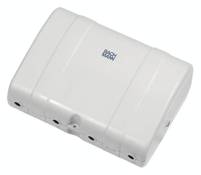 Bachmann 904.100 Rozváděč Safebox Bachmann 904.100 IP64 světle šedá - příslušenství napájení světle šedá