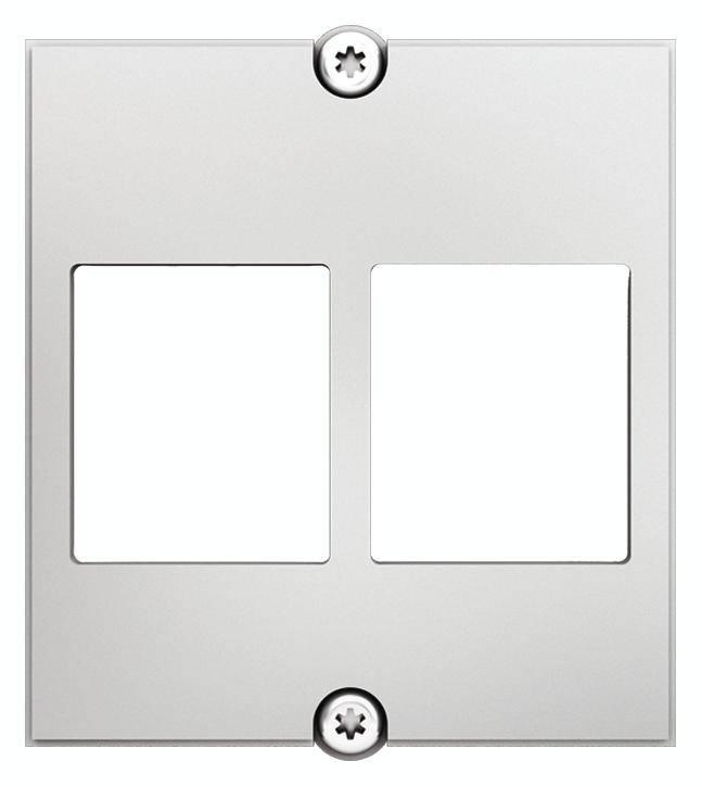 Bachmann 917.158 Bachmann 917.158 bílá nástěnná deska/kryt spínače bílá