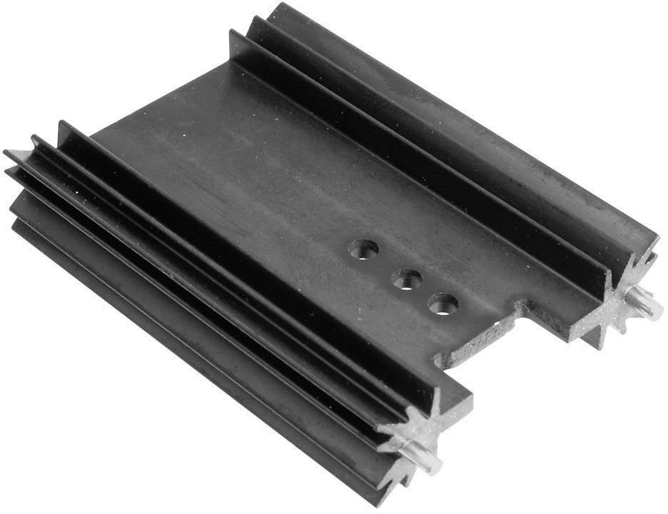 Lisovaný chladič TRU COMPONENTS TC-V7466X-203, 7 K/W, (d x š x v) 38.1 x 45 x 11.94 mm
