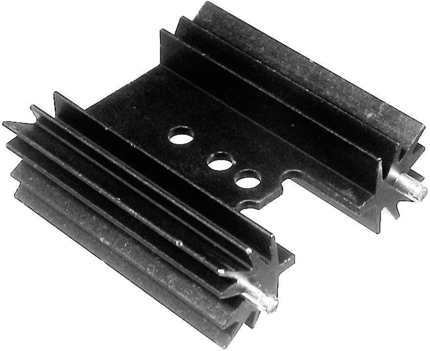 Lisovaný chladič TRU COMPONENTS TC-V7477Y-203, 9 K/W, (d x š x v) 50.8 x 35 x 12.7 mm
