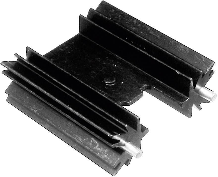 Lisovaný chladič ASSMANN WSW V7477XC V7477XC, 11 K/W, (d x š x v) 38.1 x 35 x 12.7 mm, TO-220, TOP-3, SOT-32