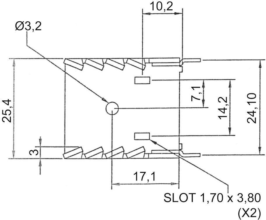 Chladič ASSMANN WSW V8502A, 20 K/W, (d x š x v) 30 x 25.4 x 12.7 mm