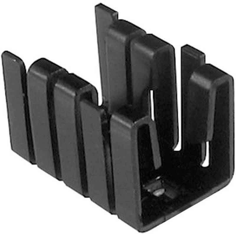 Chladič TRU COMPONENTS TC-V8508A-203 1586617, 21 K/W, (d x š x v) 19 x 12.8 x 12.7 mm